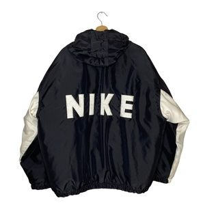 Vintage 90s Nike Box Swoosh Spell Big Logo Jacket